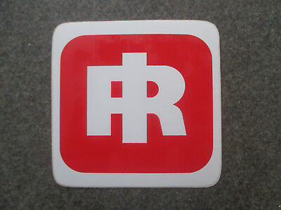 """Ingersoll Rand NEW Vintage and Rare original style toolbox decals 3"""" x 3"""""""