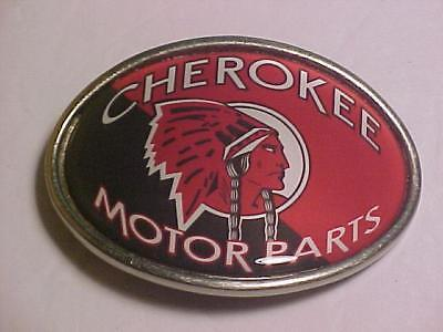 CHEROKEE MOTOR PARTS Belt Buckle Used  VIBRANT COLORS  FREE SHIPPING