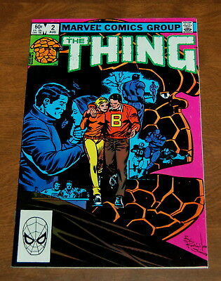 The Thing 2 Fantastic Four Collectors Ben Grimm  John Byrne Vf 8.0