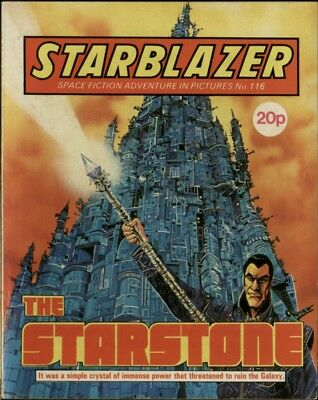 The Starstone,starblazer Space Fiction Adventure In Pictures,no.116,1984