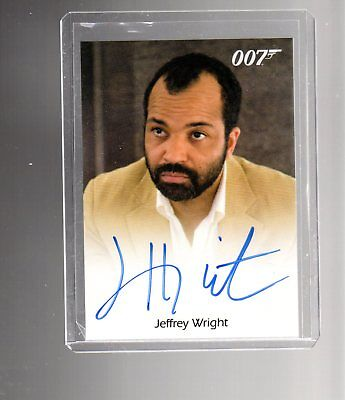 James Bond Archives Final Edition Jeffrey Wright Autographed card