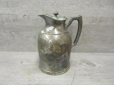 Vintage The Roosevelt New York Metal Thermos Container