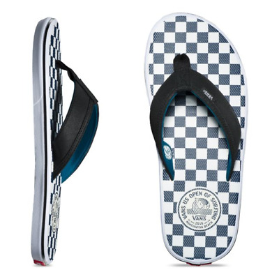 3cb8c80fbf7 VANS La Costa Lite Sandals (NEW) US Open of Surfing 2018 CHECKERS Free  Shipping