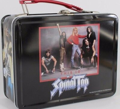 """""""THIS IS SPINAL TAP"""" METAL LUNCH BOX, Store GUITAR PICKS & EARPLUGS, from 2000"""