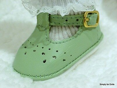 """RED T-Straps DOLL DRESS SHOES fits American Girl 15/"""" BITTY BABY /& TWINS DOLLS"""