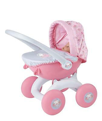 Baby Annabell My First 4 in 1 Dolls Pram Pushchair Carry Cot and Baby Seat