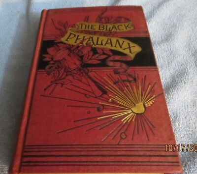 Civil War The Black Phalanx 1st 1891 History of african american soldiers