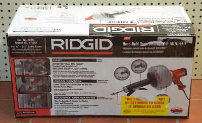 "NEW - Ridgid K-45AF 35473 3/4"" to 2-1/2"" Handheld Drain Cleaner w/Autofeed"
