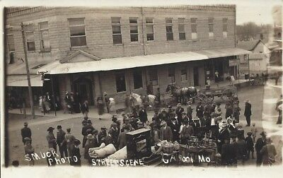 Street Scene, Cabool, Mo. (Missouri) by Smuck Photo Vintage Real Photo Postcard