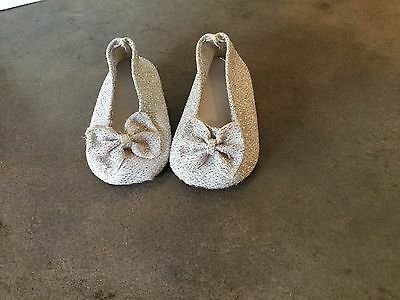 American Girl Silver Shoes, For Dolls, Fit American Girl Doll