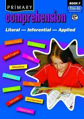 Primary Comprehension: Bk. F: Fiction and Non... by Prim-ed Publishing Paperback