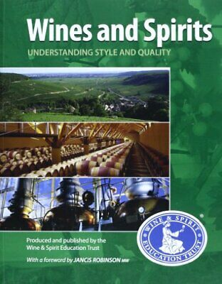 Wines & Spirits Understanding Style and by Wset Book The Cheap Fast Free Post