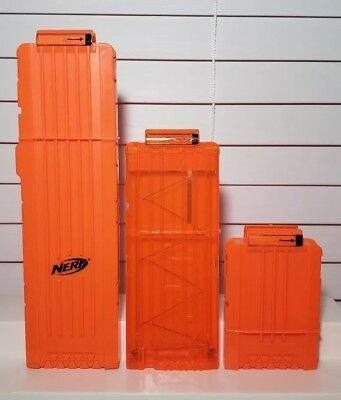 LOT Of 3 Nerf Dart Ammo Clips / Magazines 6 - 12 - 18