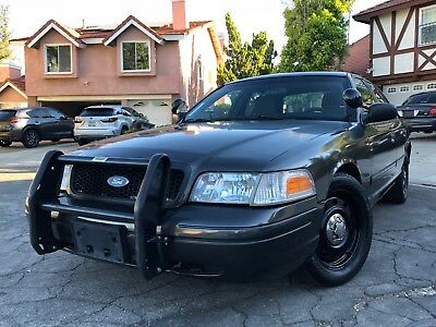 2011 Ford Crown Victoria Police Interceptor Unmarked unit, no accident, all matching vin tag in place