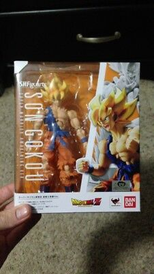 Bandai SH Figuarts Dragon Ball Z Super Saiyan Goku Warrior Awaking Action Figure