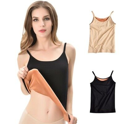 Warm Vest Women Shapewear Sling Design Thick Lady Wear Elastic Sleeveless Tops