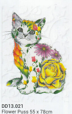 Diamond Dotz 5D Embroidery Facet Art Kit Boxed LEOPARD SPY 42 x 15cm