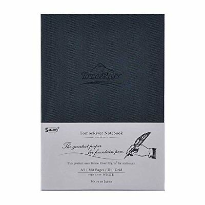"""Tomoe River FP Notebook Dot Grid A5 White 368p Hard Cover 5.85"""" x 8 From japan"""