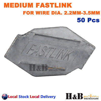 50X Fastlink Wire Joiners Fence Fencing Joiner Works With gripple Tensioning