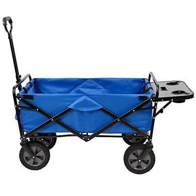 Folding Outdoor Utility Wagon Cart Collapsible Haul Compact Heavy Duty Frame New
