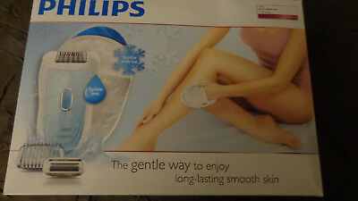 """Philips - Epilateur Satinelle Soft Total Body """"Wet and Dry"""" Hp6553/00 - Neuf"""