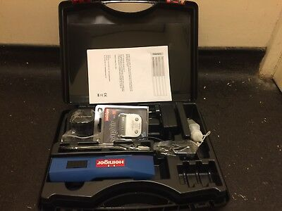 HEINIGER SAPHIR CLIPPERS - Cordless Horse Dog Trimmer Two Batteries