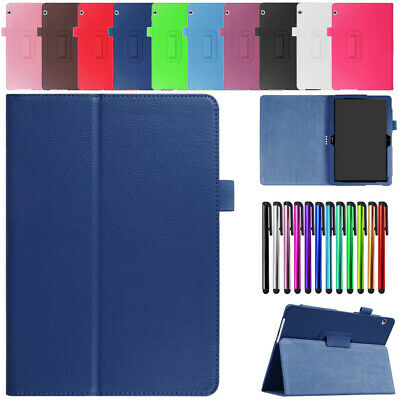 """For Huawei Mediapad T2 7"""" 8"""" T3 10 Tablet Case PU Leather Flip Stand Cover Skin"""