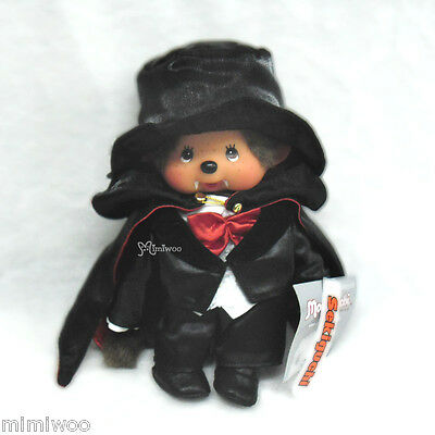 "Monchhichi S Size 22cm Plush Halloween Dracula MCC "" Stain Problem at Shirt """