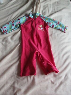 Baby Swimming costume/cover up 6-9mths