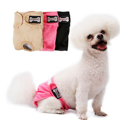 New XS-XL Female Pet Dog Pants Bitch Protect Physiological Sanitary Nappy Diaper