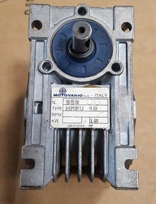 Motovario Nmrv 40 Gear Speed Reducer (Br2.1B5)