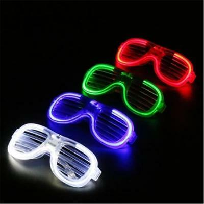 LED Flashing Glasses Retro Blink Glow Glasses SunGlasses Party Funny Adults Kids