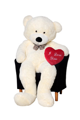TEDDY BEAR XXL200cm  GIANT SUPER SOFT CUDDLY PLUSH MOTHERS DAY GIFT PRESENT