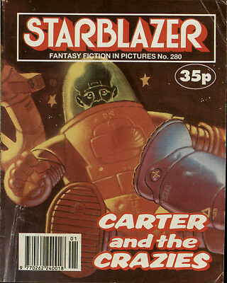 Carter And The Crazies, Starblazer Fantasy Fiction Adventure In Pictures,no.280
