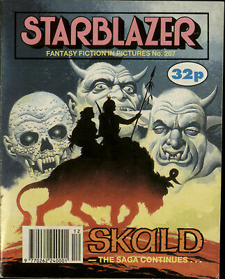 Skald, The Saga Continu, Starblazer Fantasy Fiction Adventure In Pictures,no.267