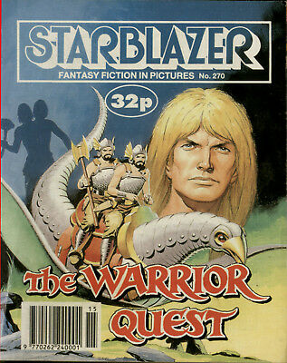 The Warrior Quest, Starblazer Fantasy Fiction Adventure In Pictures,no.270,1990