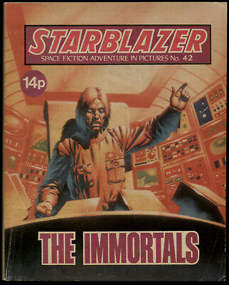The Immortals,starblazer Space Fiction Adventure In Pictures,no.42,1981
