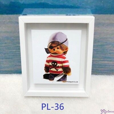 Monchhichi 6 x 5.2cm Magnet Photo Frame with Photo PL36 ~~~ NEW ARRIVAL ~~~