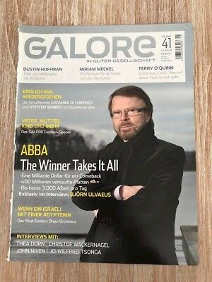 ABBA Björn Ulvaeus - RARE German GALORE Mag - Cover + 6 Pages 2008