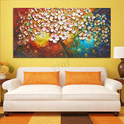 120x60cm Flower Tree Abstract Canvas Print Painting Picture Art Home Wall Decor