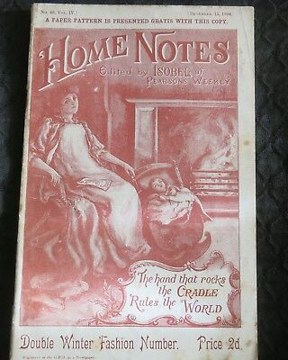 Home Notes 15 December 1894 Double Winter Fashion Number