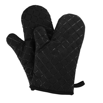 Oven Gloves Non-Slip Kitchen Oven Mitts Heat Resistant Cooking Gloves for C Q6C1