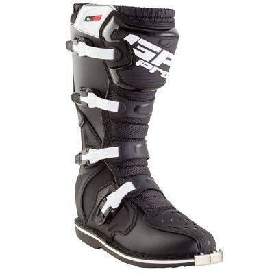 Gp Pro Comp 2.1 Motocross Mx Enduro Atv Racing Off Road Boots Black Steel Toe