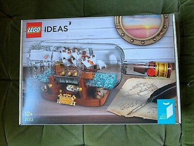 sealed Lego 21313 Ideas Flaschenschiff NEU