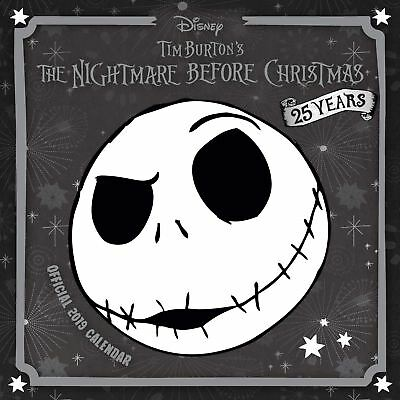 Official 2019 The Nightmare Before Christmas Square Calendar Gift Hanging