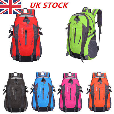 40L Travel Backpack Waterproof for Climbing Camping Hiking Lightweight Rucksacks