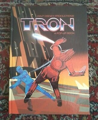 VGC 1982 Tron Pop-Up Book / Walt Disney
