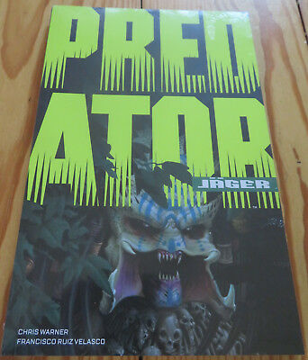 "TB ""Predator: Jäger"" von Chris Warner, 2018, Comic, Cross Cult, NEU+OVP"