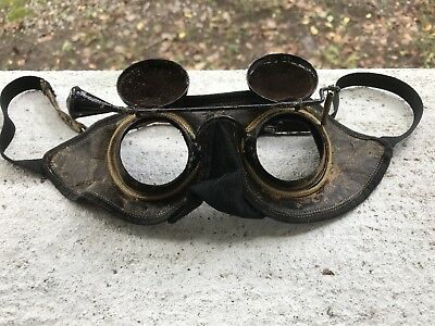 1800s Odd Fellows Initiation Googles