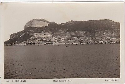 The Rock From The Bay, GIBRALTAR, L. Roisin RP